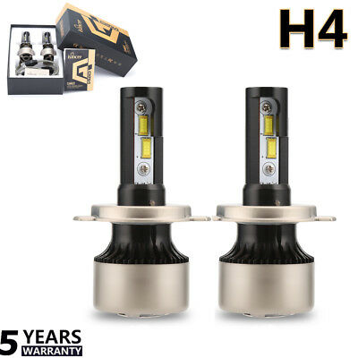 Pair H4 CREE LED Headlight 9003/HB2 880W 188000LM Hi/Lo Bulb Canbus Error Free A