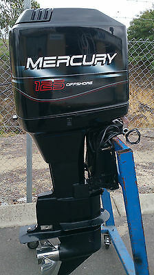 "Mercury 125 hp 25"" 2 Stroke 1997"