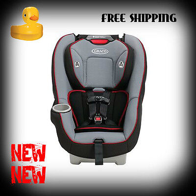 Graco Contender 65 Convertible Car Seat - Chili Red - New 100% - Free Shipping