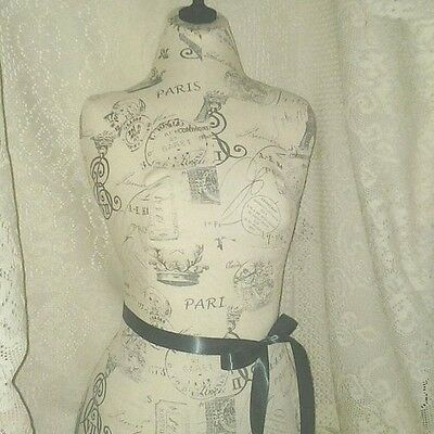 Boutique dress form bust craft booth display wholesale   linen mannequin
