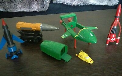 Matchbox Thunderbirds 1 2 3 And 4 & Mole Diecast