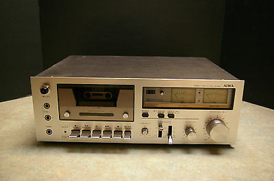 Vintage 'aiwa Ad-6350C' Stereo Cassette Deck - Limited Testing