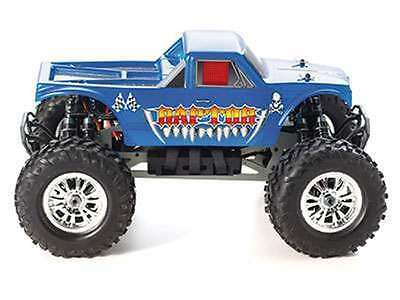 Monstertruck Raptor-E 4WD M 1:8 / 2,4 GHz / Brushless Komplettset !!