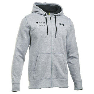 Anthony Joshua Grey Authentic Under Armour Hoody in SMALL