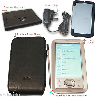 PalmOne Palm Lifedrive Mobile Organizer Bluetooth 2GB PDA W/ Extras - Bundle Sal