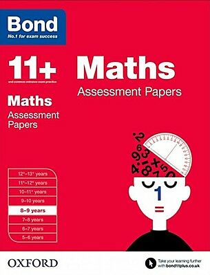 Bond 11+: Maths Assessment Papers [8-9 Years] NEW