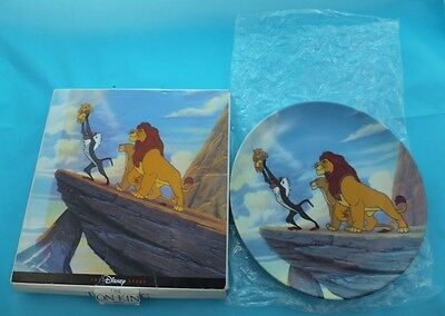Disney Lion King Collectors Plate 1994 With Original Box Limited Edition