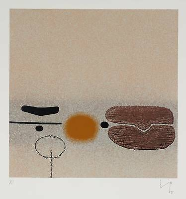 Victor Pasmore - Points of Contact, 1979 - signed and numbered screenprint
