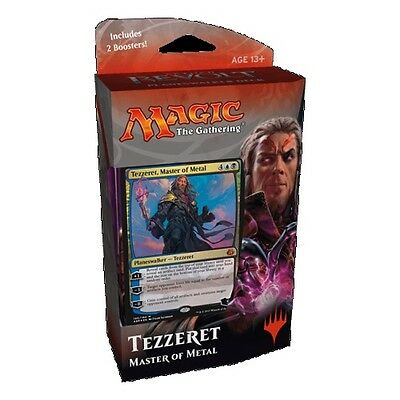 Magic the Gathering Aether Revolt Planeswalker Tezzeret, Master of Metal - New