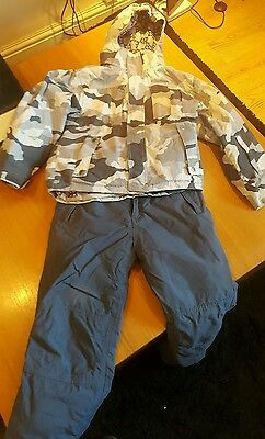 BOYS SKI SNOWBOARDING  Outfit Jacket Trousers Age 10 Age 11-12