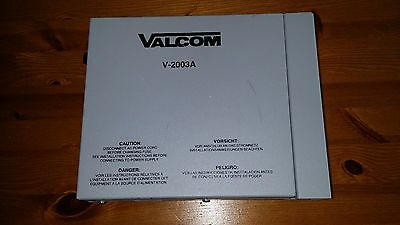 Valcom V-2003A 2003 Three Zone Paging Control 1 Way Page
