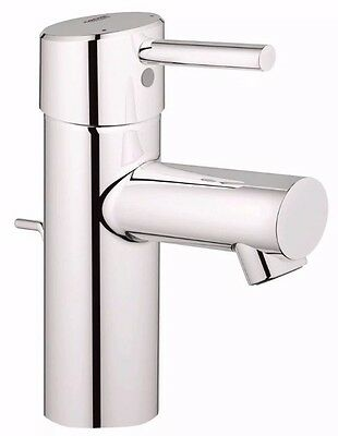 Grohe Feel Basin Mixer Tap & Pop-Up Waste 23494000 Same Day Dispatch!!!!!