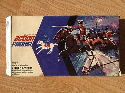 Timpo Action Pack Waterloo British Cavalry boxed 1970