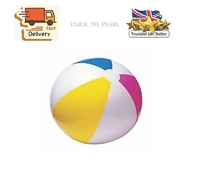 "24"" Inflatable Blow Up Panel Beach Ball Holiday Swimming Pool Party Toy,new"