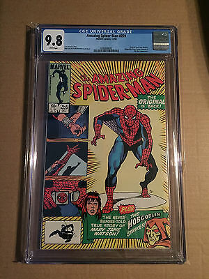 The Amazing Spider-Man #259 CGC 9.8 WHITE PAGES