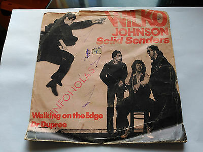 Wilko Johnson Solid Senders - Walking On The Edge - Virgin Spain 1978
