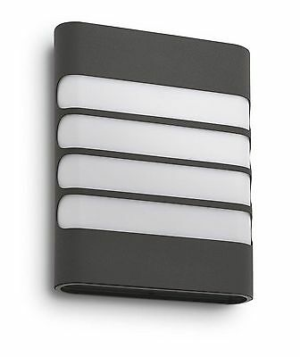 Philips myGarden Raccoon OUTDOOR LED Wall light - ANTHRACITE GREY