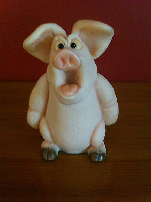 "Collectable Handmade Piggin' - ""shut It""  1997 By David Corbridge"