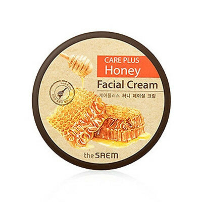 [the SAEM] CARE PLUS Honey Facial Cream 200ml - Korea Cosmetic
