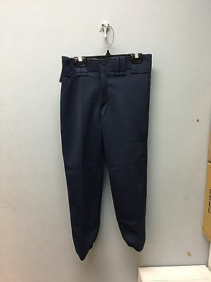 Womens Elastic Bottom Mizuno Fastpitch Pant Multiple Sizes Color Navy (350150)