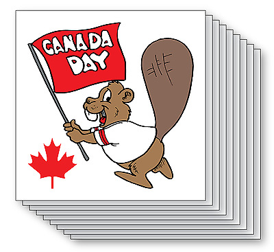 Canada Day - Temporary Tattoos - Pack of 25