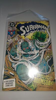 Superman The Man of Steel Issue 18 Doomsday
