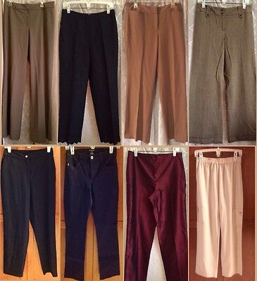 25 PC Wholesale Lot Women's Pants -Assorted Sizes-Styles-Colors-Resale Inventory