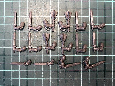 Space Marine Bits - Death Watch Kill Team - 16 X Power Weapons - Swords, Mauls