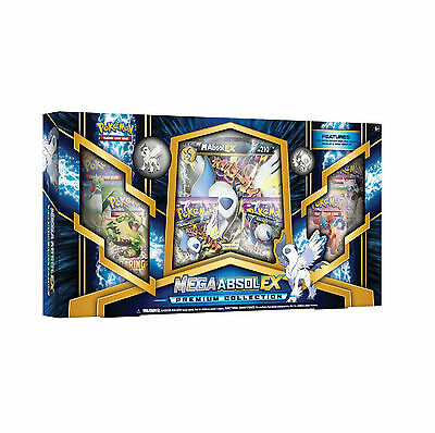 Pokemon: M Mega Absol Ex Premium Collection Box: 6 Boosters Promo Card + More