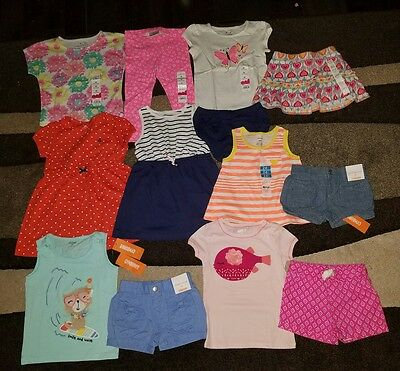 NWT Size 2T LOT of Summer Girls CLOTHES OUTFITS 24 months Gymboree fish