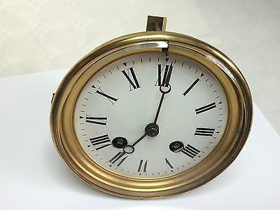 Antique French Clock Movement - Brevete S.G.D.G. - Spares or Restoration