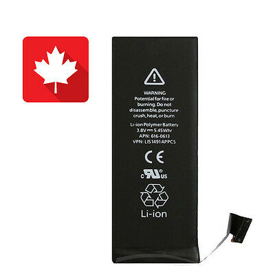 Brand NEW Replacement Battery for iPhone 5S 1560mAh From Canada