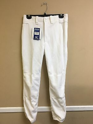 Youth Premier Player Mizuno Baseball Pant Multiple Sizes Color White (350015)