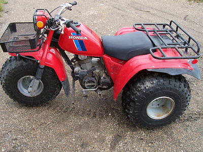 Honda ATC 200E Big Red 1982/83 owner/repair manual
