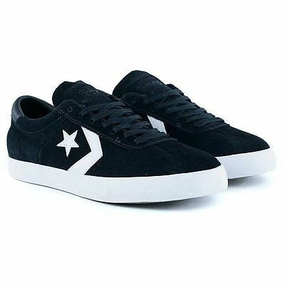 Converse Cons Breakpoint Pro Black White Suede Skate Shoes New Free Delivery