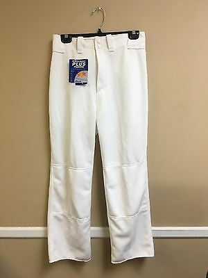 Youth Relaxed Fit Mizuno Baseball Pant Multiple Sizes Color White (350264)