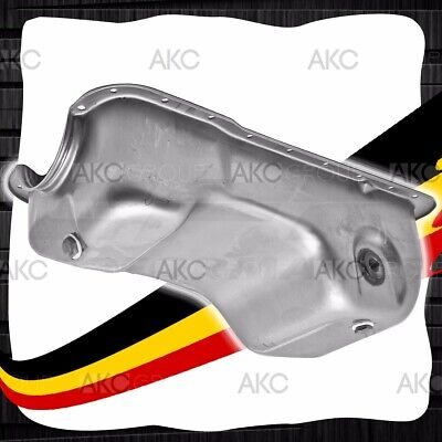 CHROME STEEL OIL PAN FOR 83-93 FORD SMALL BLOCK 302 5.0 MUSTANG STOCK CAPACITY