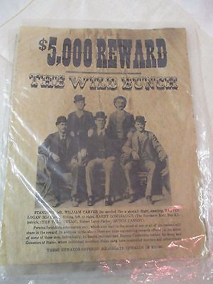 Vintage reproduction Wanted Poster The Wild Bunch