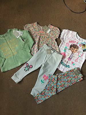 Next Girls Bnwt Clothes Bundle  Age 18-24 Months