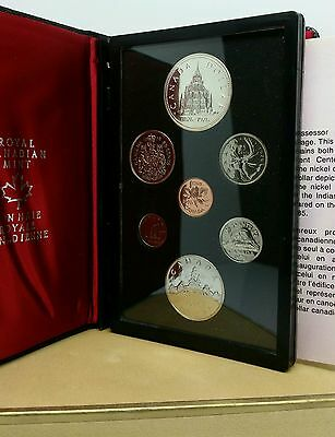 1976 Canada Dollar Silver Canadian Royal Mint Proof Coin Set