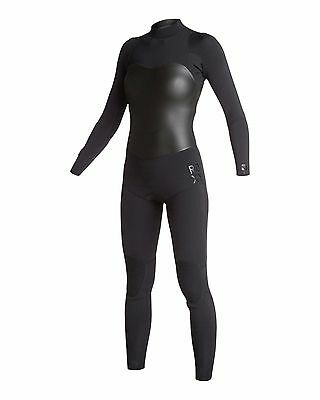 Quiksilver Roxy Women 4/3mm Black XY Collection BZ STMR Wetsuit Size 10 NWT $350