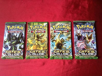 Pokemon Trading Cards  XY -Fates Collide Brand New Sealed Pack