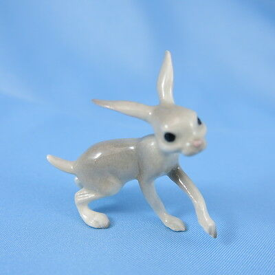 Vintage Hagen Renaker Miniature Rabbit WALKING