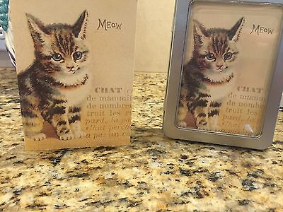 Vintage Kitten Note Cards By Cavallini
