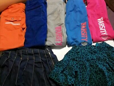 Girls Athletic Sweat Pants Skinny Pants Skirts Lot of 7 Clothing Childrens Place