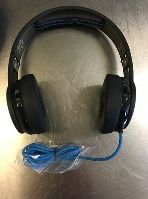 NEW SMS Audio Street By 50 Cent Wired On Headphones (Black)
