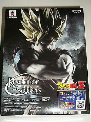 BANPRESTO DRAGONBALL Z GOKU Resolution of Soldiers Vol. 1 Figure