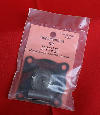 Hobart  Dishwasher  Asco  Type  3/4  Inch  Hot  Water  Solenoid  Repair  Kit