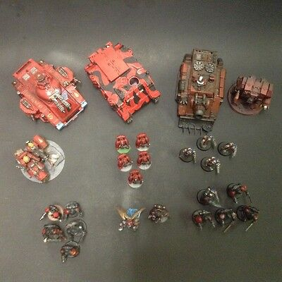 Blood angels space marines army lot Warhammer 40k 30k