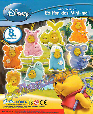 Disney Mini Winnies Edition Des Mini - Moi! - Tomy News 8 Pezzi